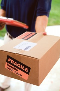 pakketje fragile